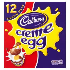 £2 box of 12 creme eggs instore in Waitrose & Partners