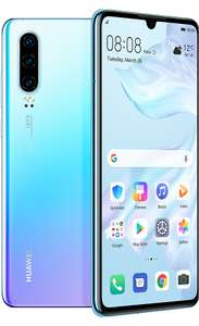 Huawei P30 1GB Data/Unlim Min/Text -  24 months @ £24.99 month & £49.99 up-front - iD Mobile