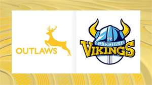 Notts Outlaws v Yorkshire Vikings Sun 28th April 1-Day Cup Match entry JUST £1 per Adult (normally £18) / U16s FREE (£9) @eticketing.co.uk