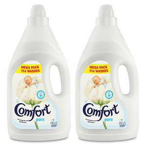 Pack of 2 x 4L / 114 Washes (total 8L/228 washes) Comfort Fabric Conditioner in Pure or Blue Skies £7.99 Delivered @ eBay / avantgardebrands