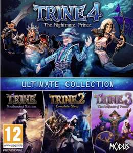 TRINE ULTIMATE COLLECTION (PS4/XBOX ONE) @ thegamecollection / Trine 4: The Nightmare Prince (Xbox one/ps4)£20.85/ £24.85 (switch) @ base