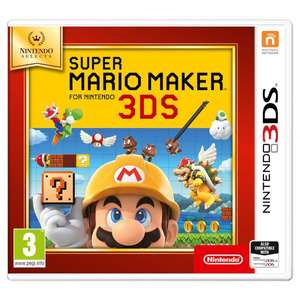 Can't wait for Super Mario Maker 2? Play the 3DS version whilst you wait £13.99  @ Argos