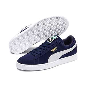 cd0e296da9c50 Puma Unisex Adults  Suede Classic + Sneakers (Blue) - was £58 now