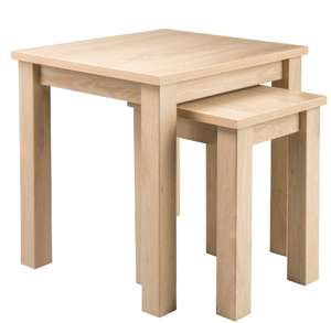 Newhampton Nest of Tables - Natural - £21.75 + £2.95 delivery See OP for more options @ George ASDA