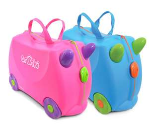 Trunki Ride-On Suitcase - Pink or Blue - £19.99 @ Argos