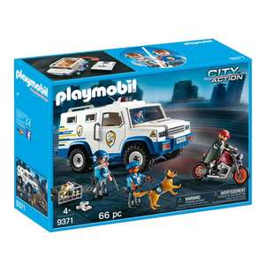 Playmobil Money Transport Vehicle 9371 £17.50 + £3.50 p&p @ Jarrold