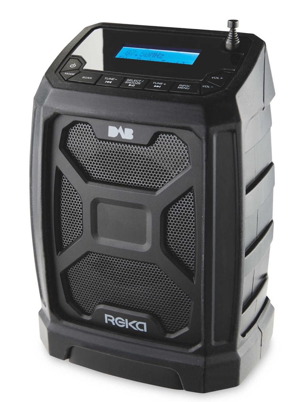 Reka Water resistant Bluetooth DAB Site Radio £29.99 Delivered @ Aldi