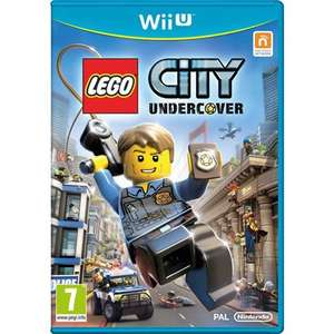 Just a fiver in-store: Lego City Undercover for Wii U (pre-owned with no toy) £5 @ CeX or +£1.50 for postage + 2 years warranty included