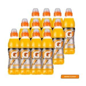 Gatorade Orange Sports Drink Pack of 12 x 500ml Bottles £10 Delivered w/code Prime / £14.49 Non Prime - Sold by Luzern / Fulfilled by Amazon