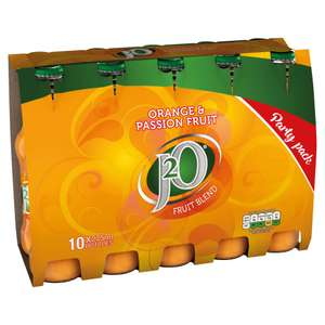 J20 3 packs of 10 (30) for £11 at Farmfoods