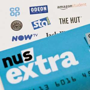 3 YEARS of NUS Extra Card Student Discount £33.50