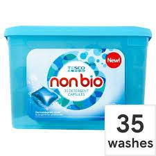 Tesco non-bio detergent capsules 35 pack £3