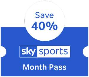 NowTV Sky Sports Pass - £20 per month (normally £33.99) for three months (cancel anytime) @ NowTV