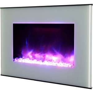 LED Remote Control Electric Fire for £56 @ B&Q (+2 Years Warranty + Free C&C)
