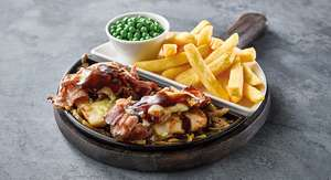 2 meals for 9.99 at select flaming grill pubs - monday - friday ALL DAY Greene King