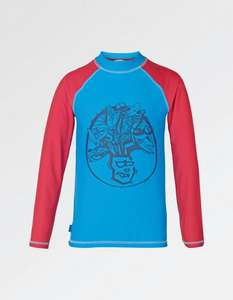 Fat face Kids Rash Vest with UPF 40+ protection now £8 Free C&C or £2.99 delivery @ Fatface