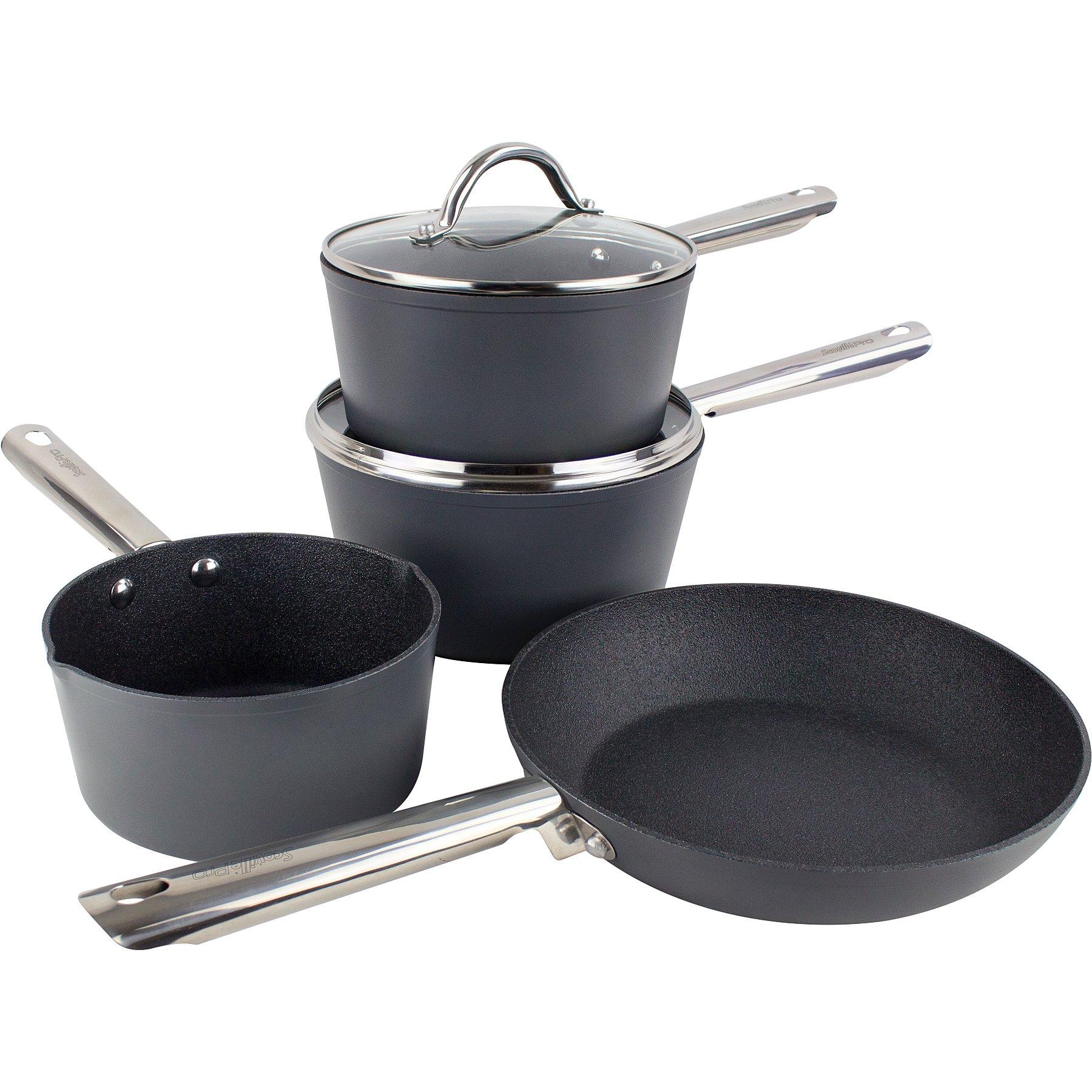 Scoville Pro Never Stick 5-Piece Frying Pan Set - £38 @ Asda