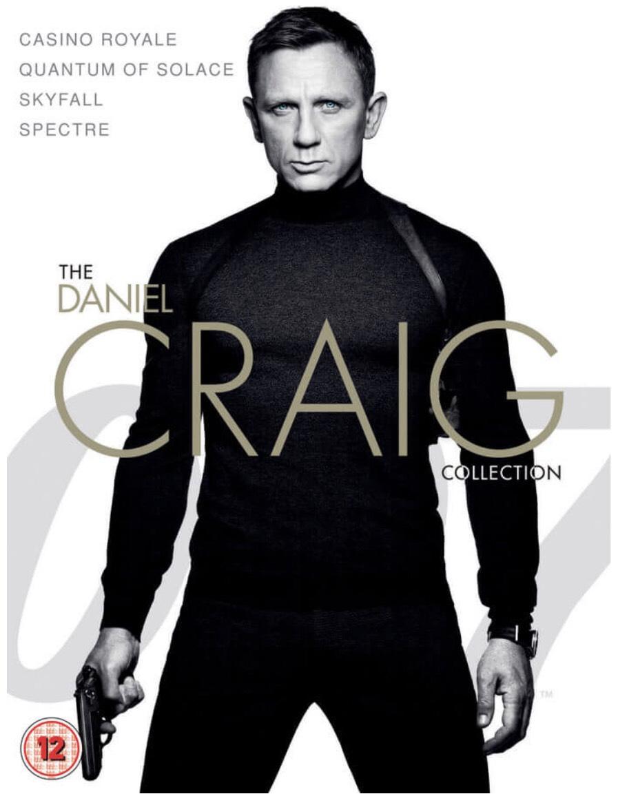 James Bond - Daniel Craig Collection 4K £17.99 @ iTunes Store