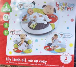 Elc Lily lamb sit me up cosy £8.75 in store @ Boots (Yeovil high street)