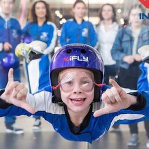 Indoor Skydiving Experience with Two Flights for one person, photo and video £24.99 @ Groupon