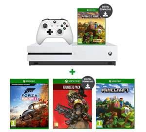 970c2596a894 Xbox One S 1TB Minecraft Creators Bundle