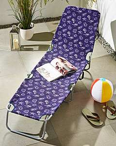 Pair of Laguna foldable lounger in 3 designs, JD Williams, £21.60 delivered (£10.80 each)