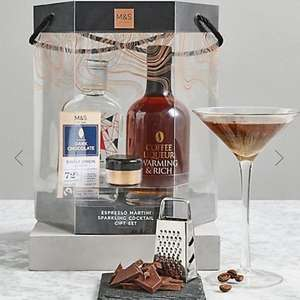 Marks and Spencer Create Your Own Espresso Martini Cocktail - £10