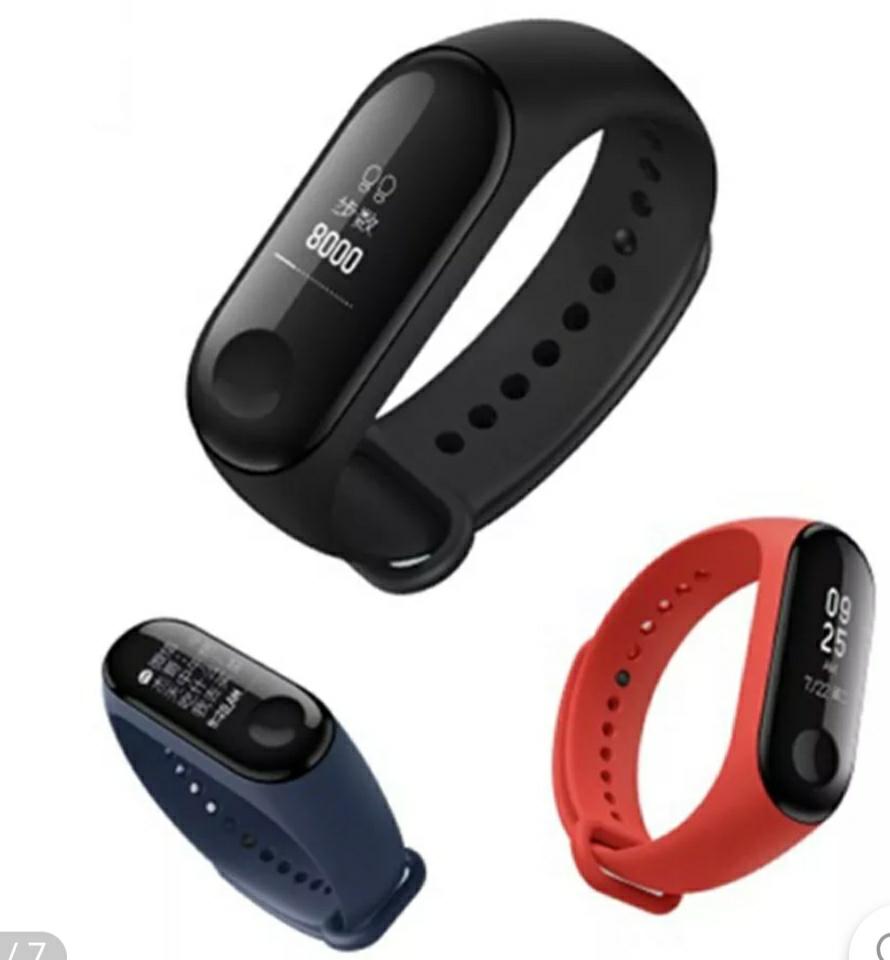 Original Xiaomi Mi band 3 Smart Watch OLED Display Heart Rate Monitor Bracelet International Version Black £17.19 @ BangGood