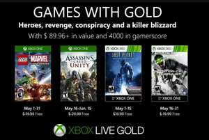 Games with Gold for May - LEGO Marvel Superheroes, Assassin's Creed Unity, Lost Planet, Splinter Cell: Blacklist(?)