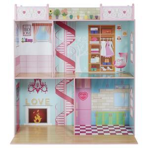 "Sindy Wooden Dolls House Suitable for 18"" Dolls H111cm x W111cm x D55cm was £50 now £21.50 Delivered @ Tesco eBay"