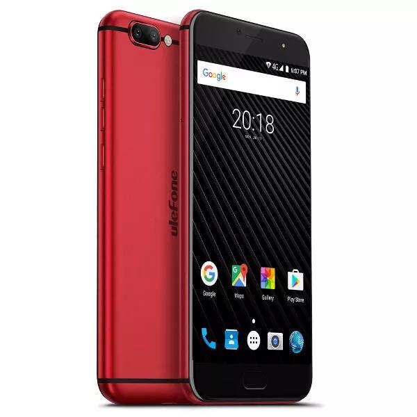 Ulefone T1 Global Version 5.5 Inch FHD! *6GB* RAM 64GB ROM Helio P25 Octa core Dual Sim 4G Smartphone - Red £99 @ BangGood