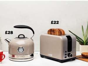 Haden Jersey Putty/Marmalade Kettle 1.5 L was £40 now £28 (Jersey Putty/Marmalade Toaster was £30 now £22) @ Asda