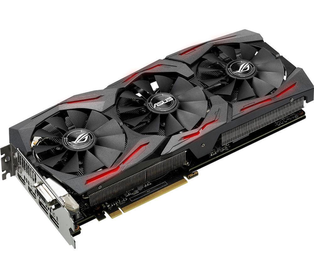 ASUS GeForce GTX 1070 8 GB ROG STRIX Graphics Card - £270 delivered @ Currys eBay