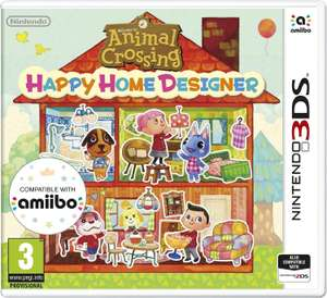 Animal Crossing Happy Home Designer Nintendo 3DS/2DS £7.98 @ Amazon (+ £2.99 delivery for non-Primers)