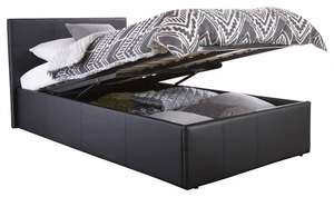 Home Source Contemporary End Lift Ottoman Bedstead - Double - £150.20 @ Amazon
