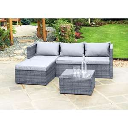 Sorrento Corner Sofa Set £200 @ B&M
