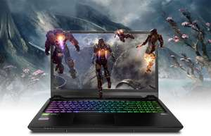 PC Specialist Defiance V Gaming Laptop - RTX 2080 Max-Q, i7-8750h £1533 (No Operating System / No Recovery Media / No Ant Virus)