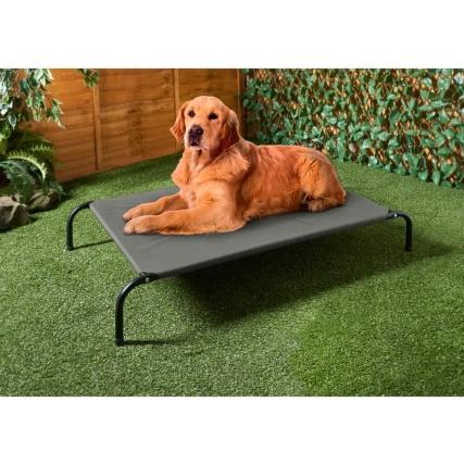 Barkhaus Raised Dog Bed  £14.99 @ B&&M