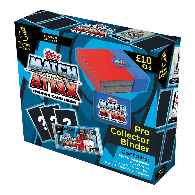 Match Attax 2018/19 Pro Collector Binder £3.99 @ Argos