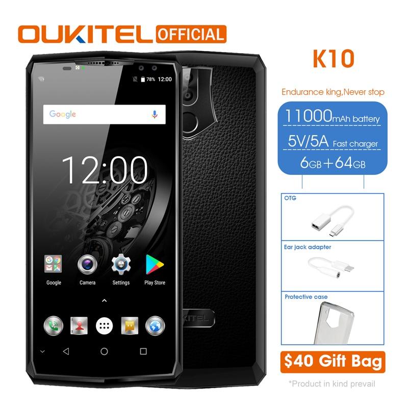 11000mAh battery monster oukitel k10 - £174.61 @ Ali Express / OUKITEL Global