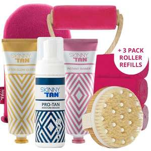 Skinny Tan Sale! 6 FREE gifts and Other Offers With £29.99 Set Purchase @ Skinnytan (+£3.99 P&P)