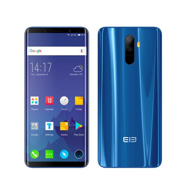 Elephone U Pro 5.99 Inch AMOLED!  6GB RAM 128GB ROM Snapdragon 660 *NFC* Band 20! 2.2GHz SmartphoneBlue - £149.75 @ BangGood