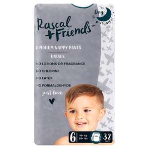 Rascal & Friends Nappies Half Price - £4 @ Tesco (Online & Instore)