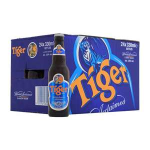 Tiger Beer 3 Cases of 12x330ml - £21 @ Asda - More Beers on 3 for £21 in OP