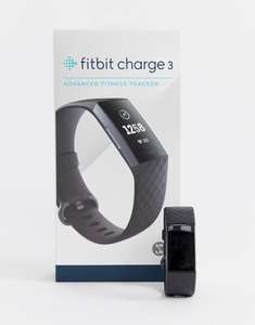 Fitbit Charge 3 - £130 / £83.49 with UNiDAYS student discount 25%  from Asos