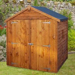 Apex Wooden Garden Shed 4 x 6ft £170 @ B&M