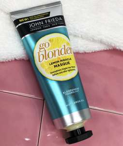John Frieda Sheer Blonde Go Blonder Lemon Miracle Masque from Sopost (be quick as these go quickly)