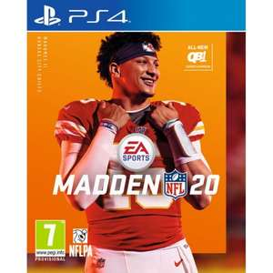 Madden NFL 20 PS4/Xbox One £44.95 @ The Game Collection