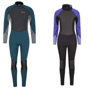 Womens Full Wetsuits  / Mens Full Wetsuits now £36.49 delivered (each) @ Mountain Warehouse