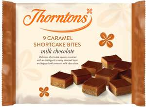 (From 1st May) Thorntons Caramel Shortcakes x9 / Thorntons  Brownie Bites x9 / Thorntons White Chocolate Bites x9 £0.70 @ Sainsbury's